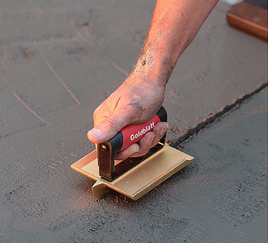 Soft Grip Handle Bronze Groover Goldblatt Tools